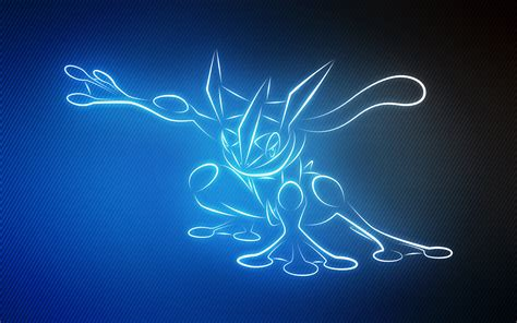 Amazing Light Show lumius 658 greninja by senzune on deviantart