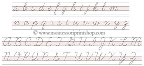 card stitch all cursive letters template writing tablet paper printable letter tracing cursive