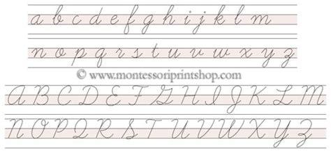 printable montessori cursive letters letter tracing paper cursive printable montessori pink