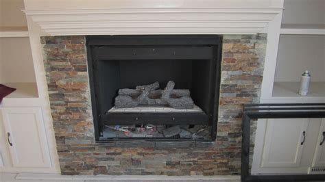 stone around fireplace remodelaholic fireplace makeover with built in shelves