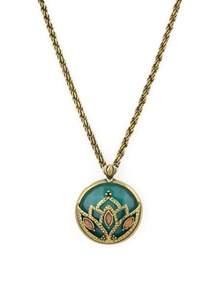 Lotus Necklace Lotus Pendant Jade Nature And Lotus