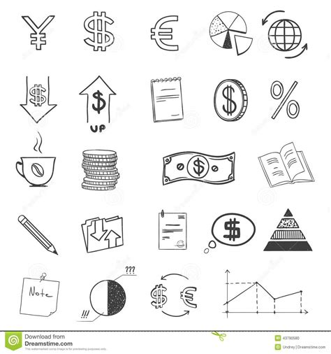 how to make a doodle sign up draw business finance doodle sketch money stock