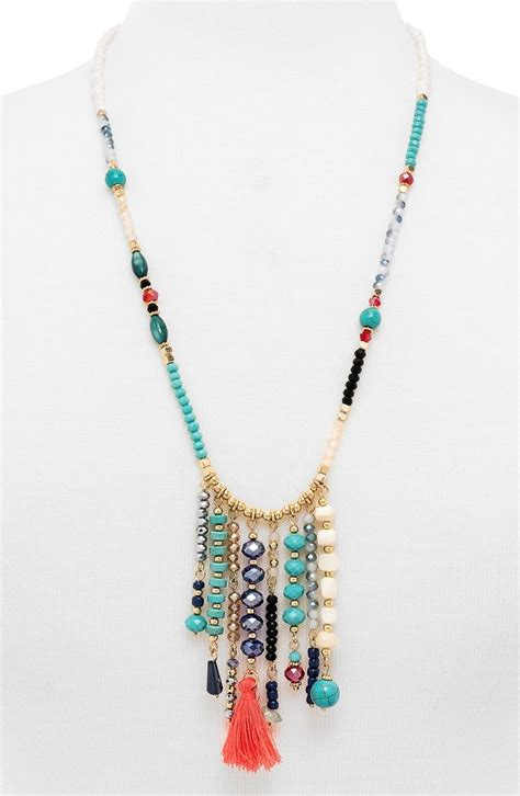 ideas for beaded necklaces best 25 beaded necklace patterns ideas on