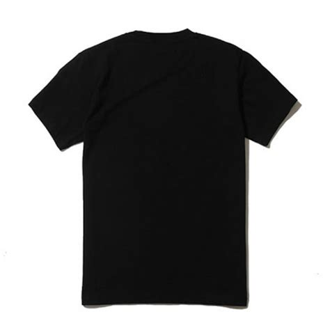 supreme british flag plain t shirt black