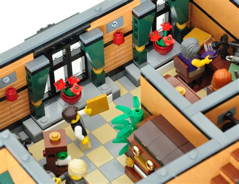 House Design From Inside lego 174 moc modular tailor