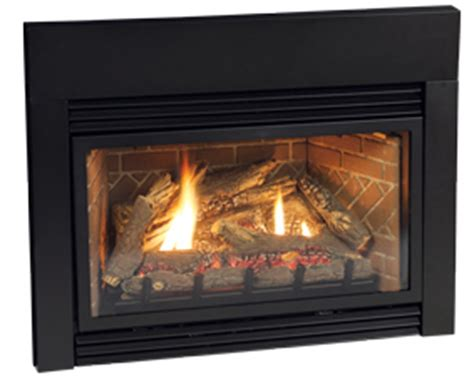 Large Gas Fireplace Inserts by Empire 6 X 3 Matte Black Steel Fireplace