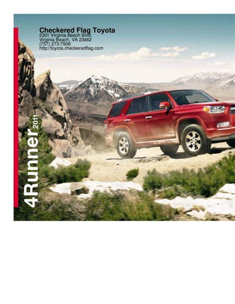 Checkered Flag Toyota 2011 Toyota 4runner For Sale In Virginia Va