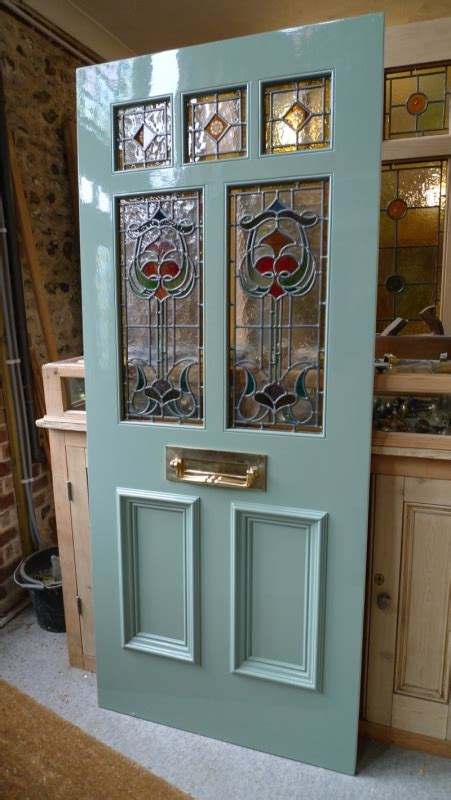glass front doors images nouveau stained glass door front door stained glass