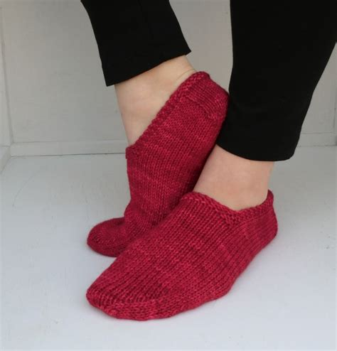 footie slipper socks bird knits free pattern footies