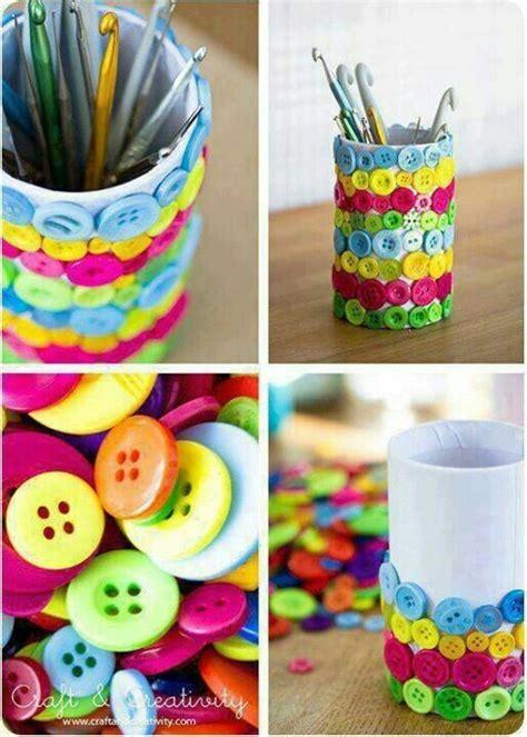 diy craft buttons craft ideas