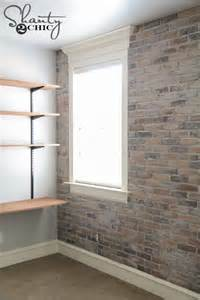 Fake Exposed Brick Wall by 10 Diy Faux And Real Exposed Brick Walls Shelterness