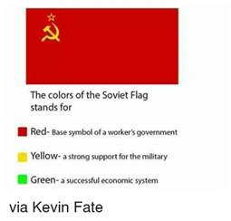 what does the color green stand for the colors of the soviet flag stands for base symbol