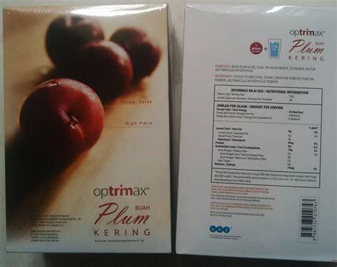 Optrimax Plum Delite 10sachets Diet Herbal Alami jual optrimax plum delite