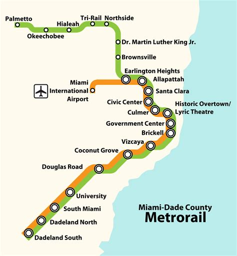 Search Miami Dade List Of Miami Dade Transit Metro Stations