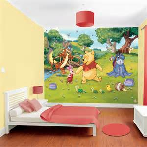 walltastic disney winnie the pooh wallpaper mural winnie the pooh up and away wall mural wallpaper