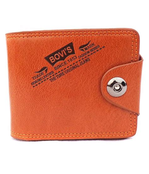 buy bovis orange regular wallet at best prices in india