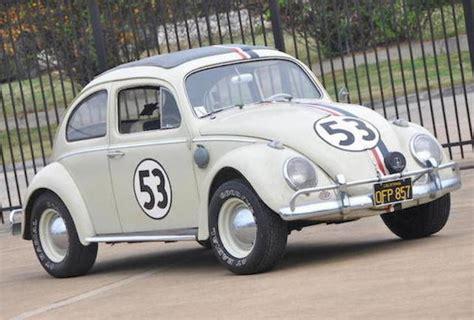 volkswagen beetle classic herbie 1963 volkswagen beetle quot herbie quot sells for an impressive