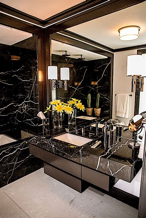 Black Modern Bathroom by Best 25 Black Marble Bathroom Ideas On Modern