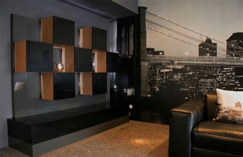bespoke furniture design industrial home theater