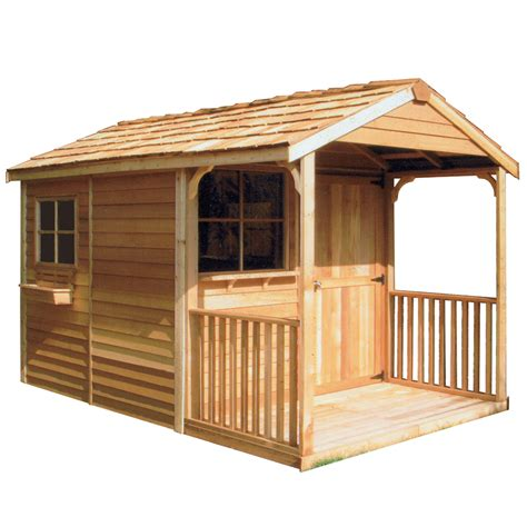 shop cedarshed clubhouse gable cedar storage shed common