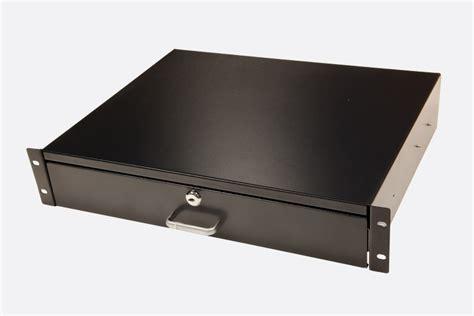 2u Drawer by Enclosure Systems Rack Drawer 2u Style B Black