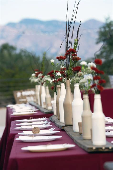 Best 10  Bottle centerpieces ideas on Pinterest   Wine