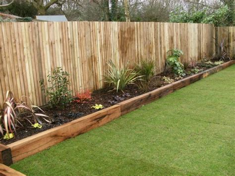 Wooden Sleepers Garden Edging 25 best ideas about garden edging on flower bed edging cheap b b and flat deck ideas