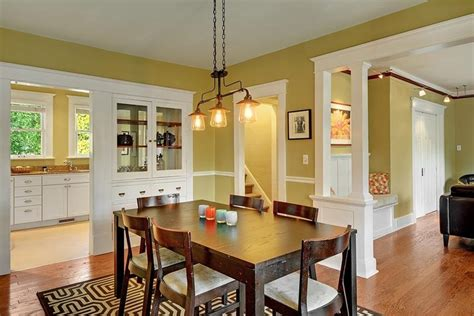 amazing craftsman dining room designs page