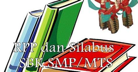 Referensi Rumus Fisika Matematika Smp By Endro W F rpp dan silabus seni budaya dan keterilan sbk smp mts kelas 7 8 dan 9 terbaru 2012