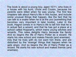 Book Report Ideas For Harry Potter by Harry Potter Book Report Projects Writefiction581 Web Fc2