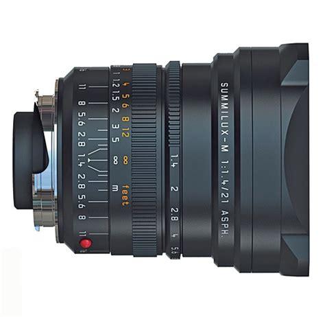 the leica summilux m 21 mm f/ 1.4 asph lens. specs. mtf