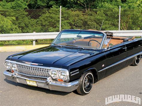 1963 chevrolet impala ss 1963 chevrolet impala ss convertible lowrider magazine