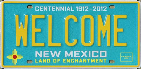 New Mexico Vanity Plates by New Mexico Y2k