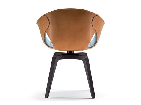 Swivel Armchair Uk by Buy The Poltrona Frau Swivel Armchair At Nest Co Uk