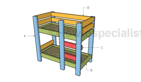 building a bunk bed how to build a doll bunk bed free 18 doll bed plans