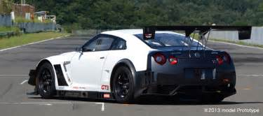 Nissan Racing Cars Nissan Updates Gt R Nismo Gt3 Race Car For 2013