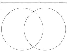 Venn Template by Blank Venn Diagram Templates 10 Free Word Pdf Format