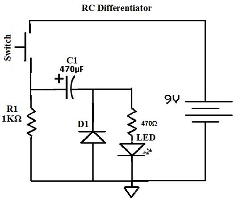 rc differentiator and integrator circuits pdf rc circuit as integrator and differentiator pdf 28 images rc waveforms and rc step response