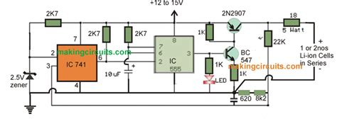 lithium ion battery charger circuit how to make a lithium polymer battery charger circuit