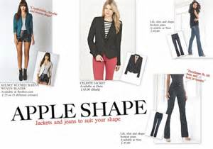 Apple shape finding the fit