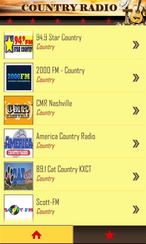 free country downloads for android country radio free android app android freeware