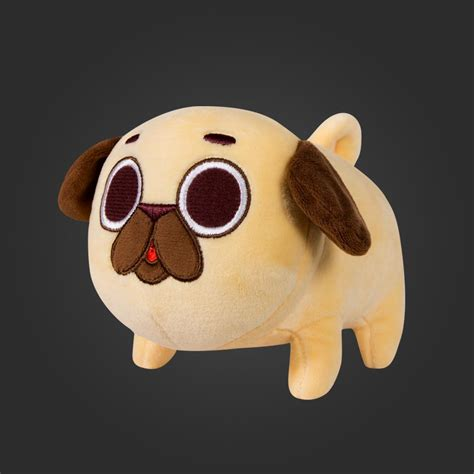 size pug stuffed animal welovefine puglie pug plush