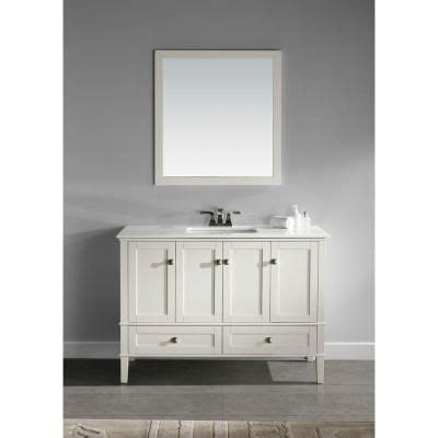 Home Depot Chelsea by Simpli Home Chelsea 48 In Vanity In Soft White With