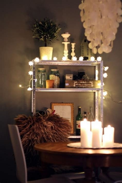 Decorating With String Lights Indoors