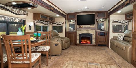 Wildwood Fifth Wheel Floor Plans by Camper Trailer Inside Model White Camper Trailer Inside