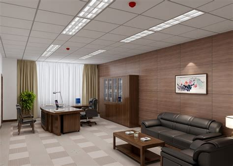 Spa Room Ideas by China Ceo Office With Wooden Wall Decoration