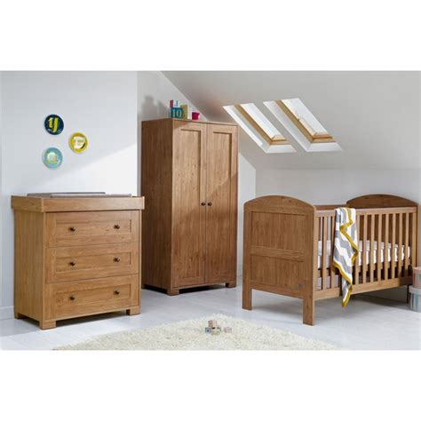 Mamas And Papas Nursery Furniture Set Buy Mamas Papas Harrow 3 Nursery Furniture Set Oak At Argos Co Uk Your