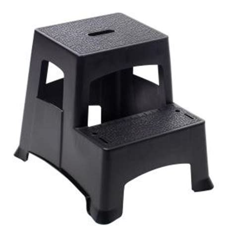 Easy Reach Gorilla Step Stool by Gorilla Ladders 2 Step Plastic Project Stool Ladder Pl2 13