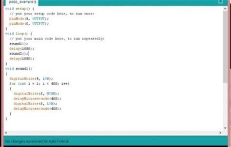 arduino code exles code exle electronics freak