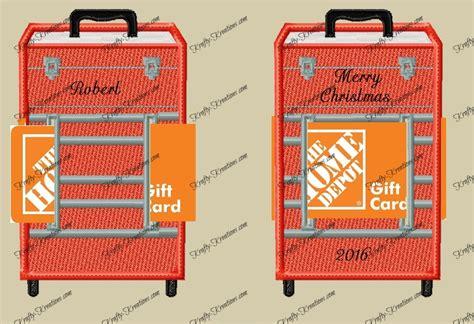 Tool Box Gift Card Holder - fsl tool box gift card holder